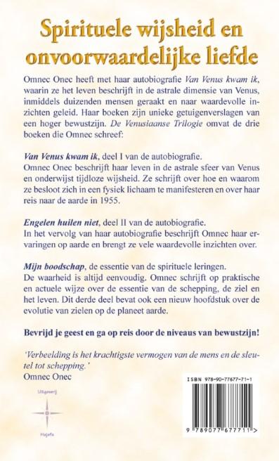 Uitgeverij Hajefa De Venusiaanse Trilogie Van Omnec Onec
